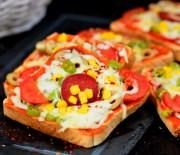 Ekmek  Pizza  Tarifi ( Videolu  Tarif)
