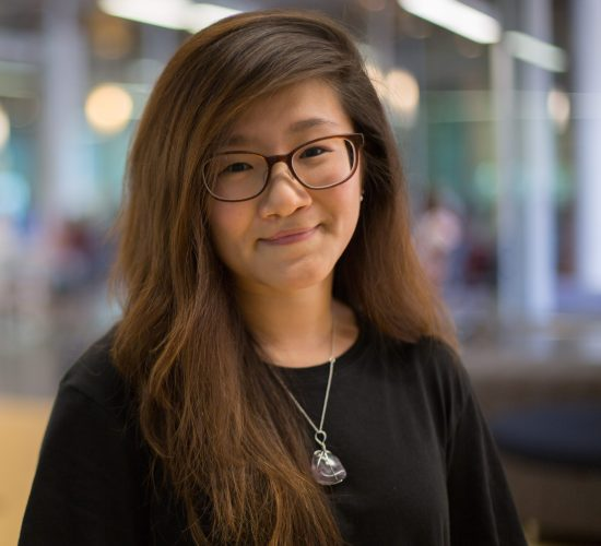 Photo of Stefanie Chae, Student Aide