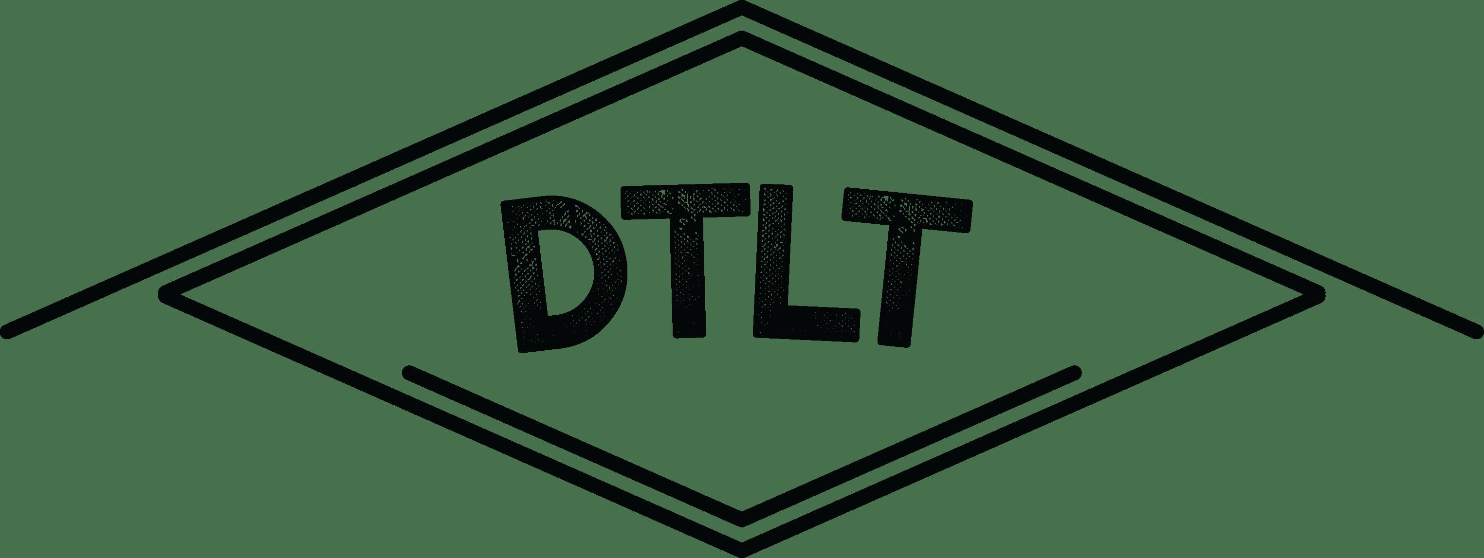 Black DTLT Logo