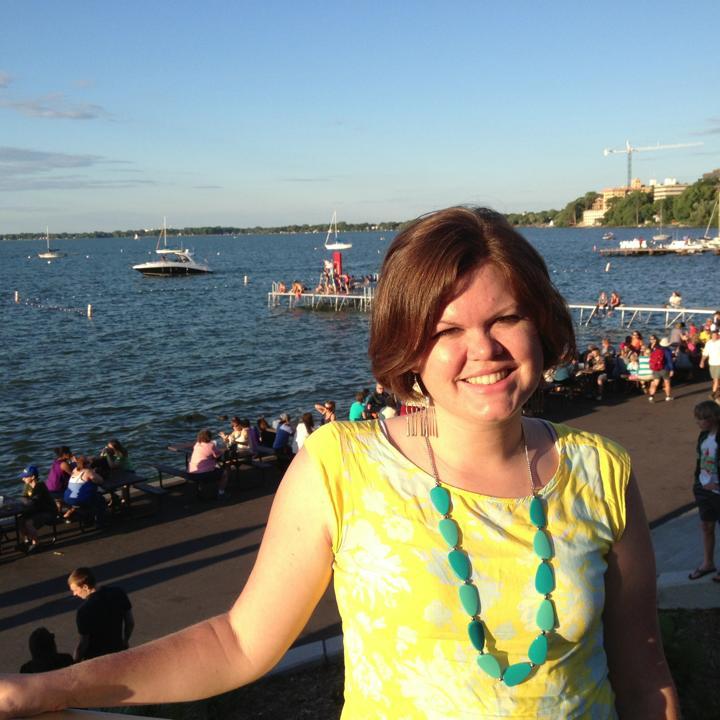 A picture of professor Chelsea Hampton