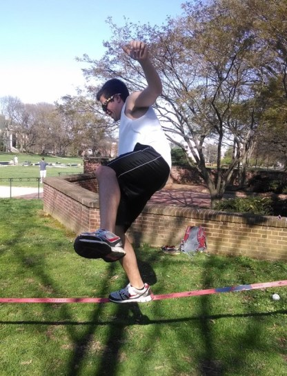 I make moves by attempting to balance my exercise and academics! #MakeMovesUMD (submitted by Ben Lerman)