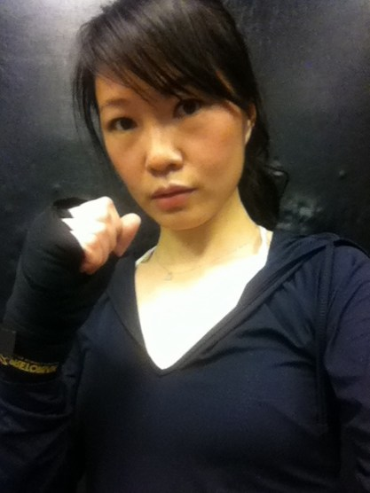boxing exercise (submitted by Rachel Shi