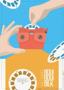 BouiBouiBilk, Übersicht, Viewmaster, Illustration,