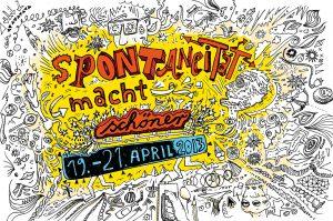 Postkarte, Fastfood Theater, Grafik, illustriert, Spontaneität,
