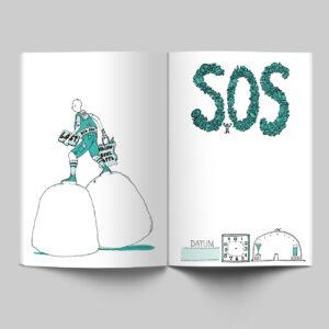 Innenseiten, Mein Buch für alle Tage, SOS, Stimmungsbarometer,