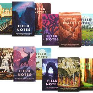Field Notes, Nationalpark Edition, überblick, 12 Notizhefte