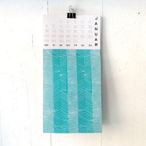 Kalenderblatt Januar, Umwerk Kalender 2020,