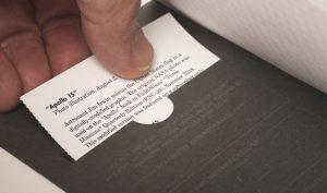 Field Notes, Vignette Edition, Einfügen von Bildmotiv,