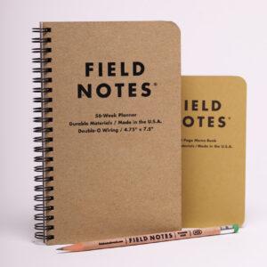 Field Notes, 56week Planner, Größenvergleich mit OriginalFN,