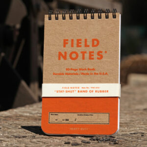 Field Notes, Heavy Duty, Schreibblock, orange