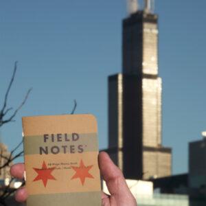 Field Notes, Chicago Edition, Notizheft vor Searstower,