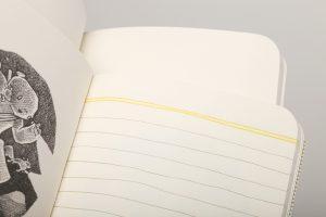 Innenseiten, Haxley Edition, liniert, blanko, Field Notes,