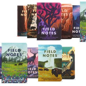 Field Notes, Summer 2019 Edition, National Parks, must have!