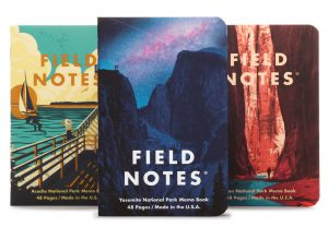 Field Notes Edtition, National Parks Edition, Front illustriert,