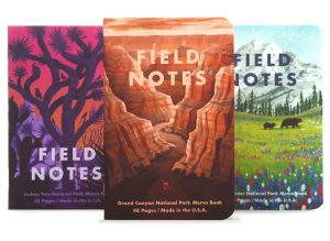 Field Notes Sommer Edition, Nationalparks, illustriertes Cover,