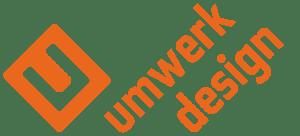 umwerk design, Schriftzug, Überschrift, Umwerk Logo, orange,