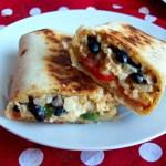 Enchiladas croustillantes au poulet et haricots noirs