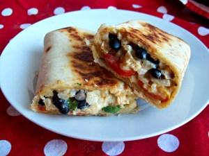 Enchiladas croustillantes au poulet