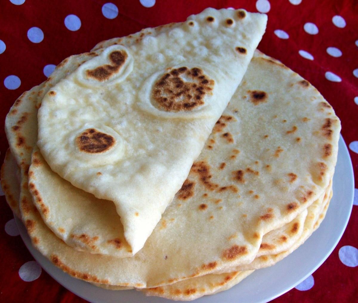 Nâans - ces petits pains indiens tout doux