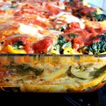 Lasagnes courgette épinards et sauge