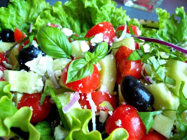 Salade grecque d'été