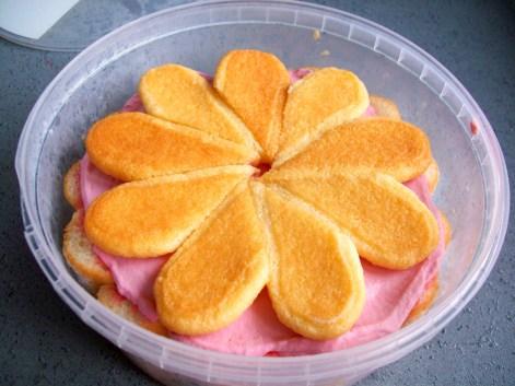 Tiramisu framboise citron (sans oeufs sans gélatine)