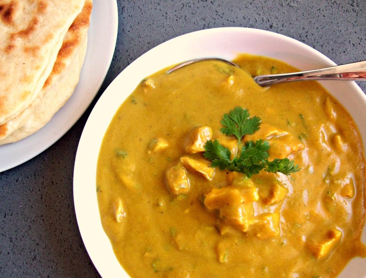 Soupe indienne au poulet et lentilles corail
