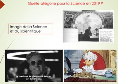 Quelle allégorie pour la Science moderne ?
