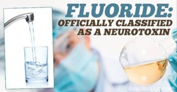 fluoride officially classified as a neurotoxin