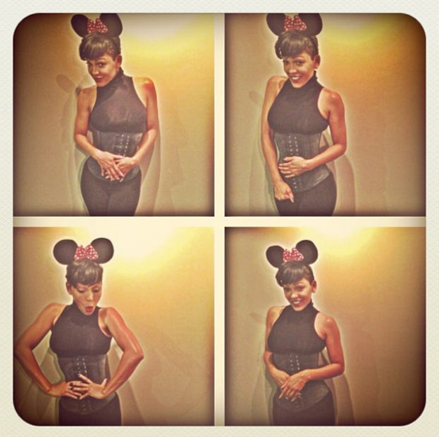 Meagan-Good-as-a-itty-bitty-waisted-mini-mouse