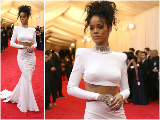 rihanna_metgala2014_messy_high_ponytail