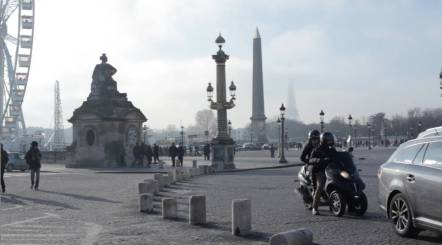 In the center of Paris is Place de la Concorde, a bustling square right at the end of Jardin des Tuileries (the garden beside the Louvre). On a clear day you can take in its grandiose statues and even catch a glimpse of the Eiffel Tower.