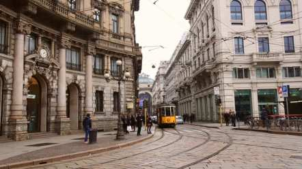 Tram-Tram: They may seem intimidating at first, but the trams in Milan are the best ways to get around and they're practically everywhere in the city.