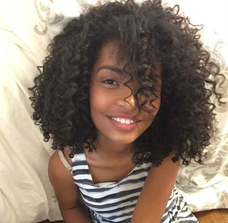 """Guess what's baaaack?? #MyCurlz #NaturalHair #FashionFun #blackish"""