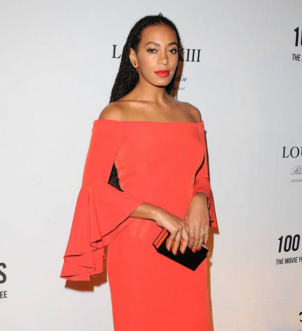 Solange long elegant box braids
