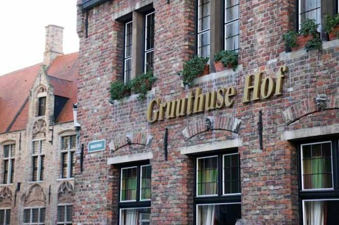 Gruuthuse Hof te Brugge
