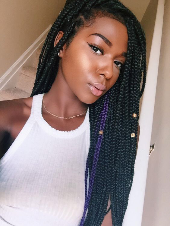 83 Box Braid Pictures That\u0027ll Help You Choose Your Next