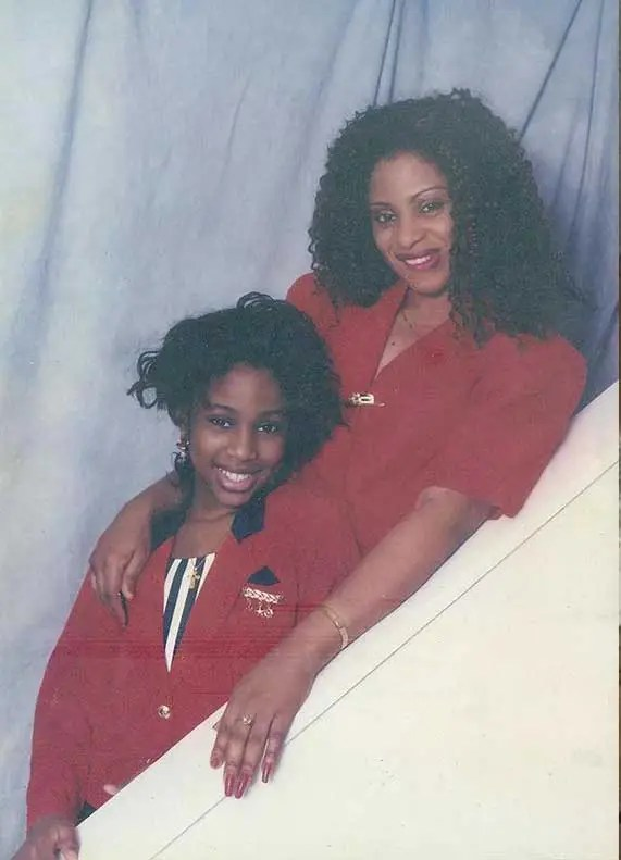 Antonia: My mum wore weaves for as long as I can remember and I occasionally wore them too when I was little.