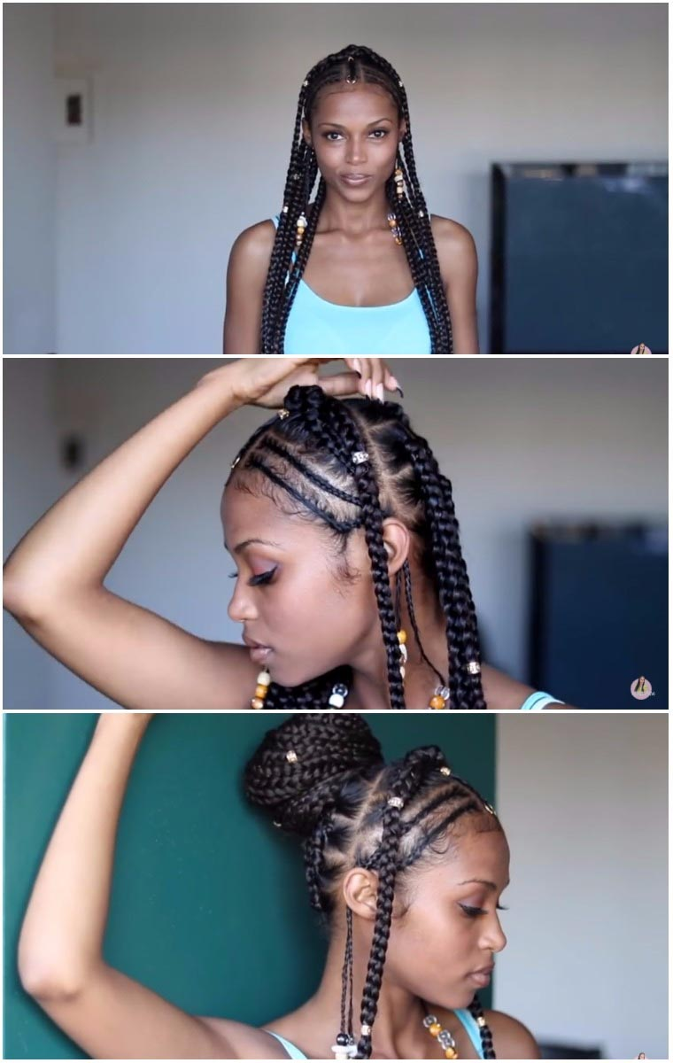 fulani braids alicia keys braids with crown