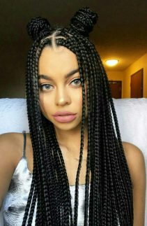 Black_Hair_Un-Ruly_Box_Braids_Long_Buns