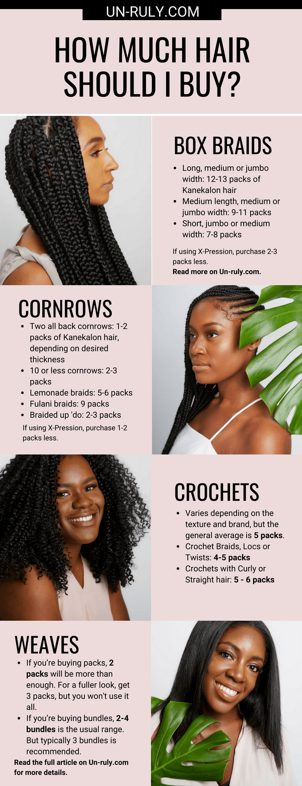 how much hair should i buy? the complete guide! | un-ruly