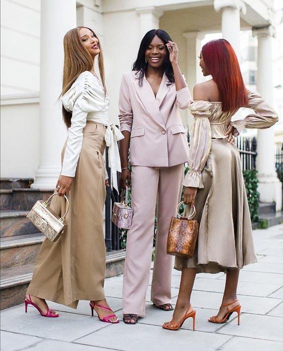 fashion stylist sonia vero and models