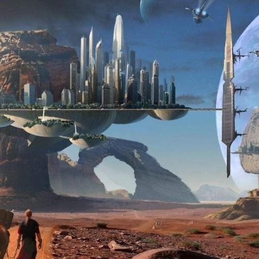 Фантастика оживает.  Elysium City - умный город нового поколения. 12