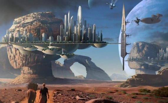 Фантастика оживает.  Elysium City - умный город нового поколения. 5