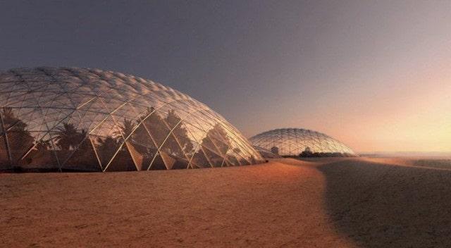 Купола, в которые «упакуют» научный город