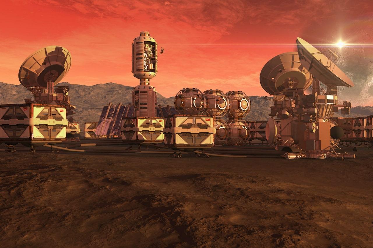МАРСИАНСКИЙ НАУЧНЫЙ ГОРОД. В ОАЭ строят город для имитации жизни на Марсе. 1
