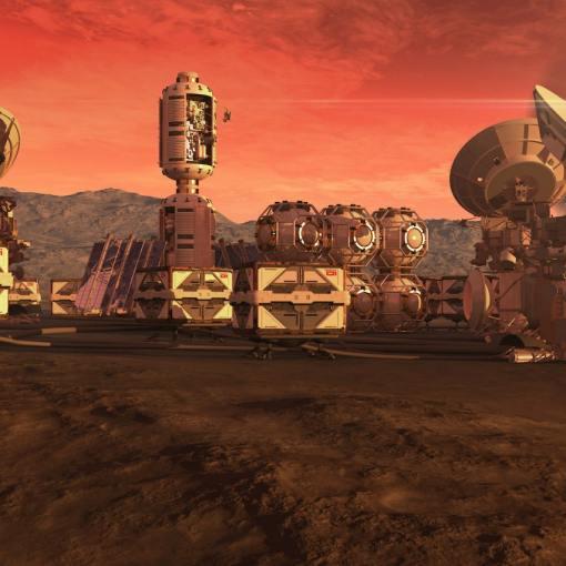 МАРСИАНСКИЙ НАУЧНЫЙ ГОРОД. В ОАЭ строят город для имитации жизни на Марсе. 5