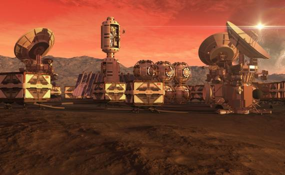 МАРСИАНСКИЙ НАУЧНЫЙ ГОРОД. В ОАЭ строят город для имитации жизни на Марсе. 8