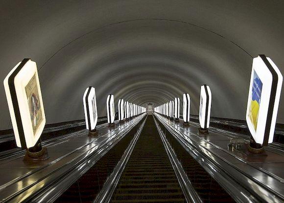 Единственные в своем роде станции Киевского метрополитена 9