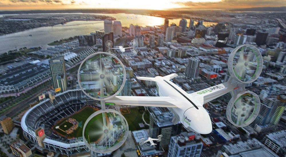 Летающие такси. Uber анонсировал запуск в Австралии. 1